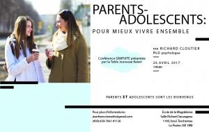 Conférence Parents-adolescents